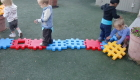 Early Preschool Building Block Activity